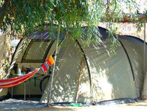 camping smeraldo piazzola tenda